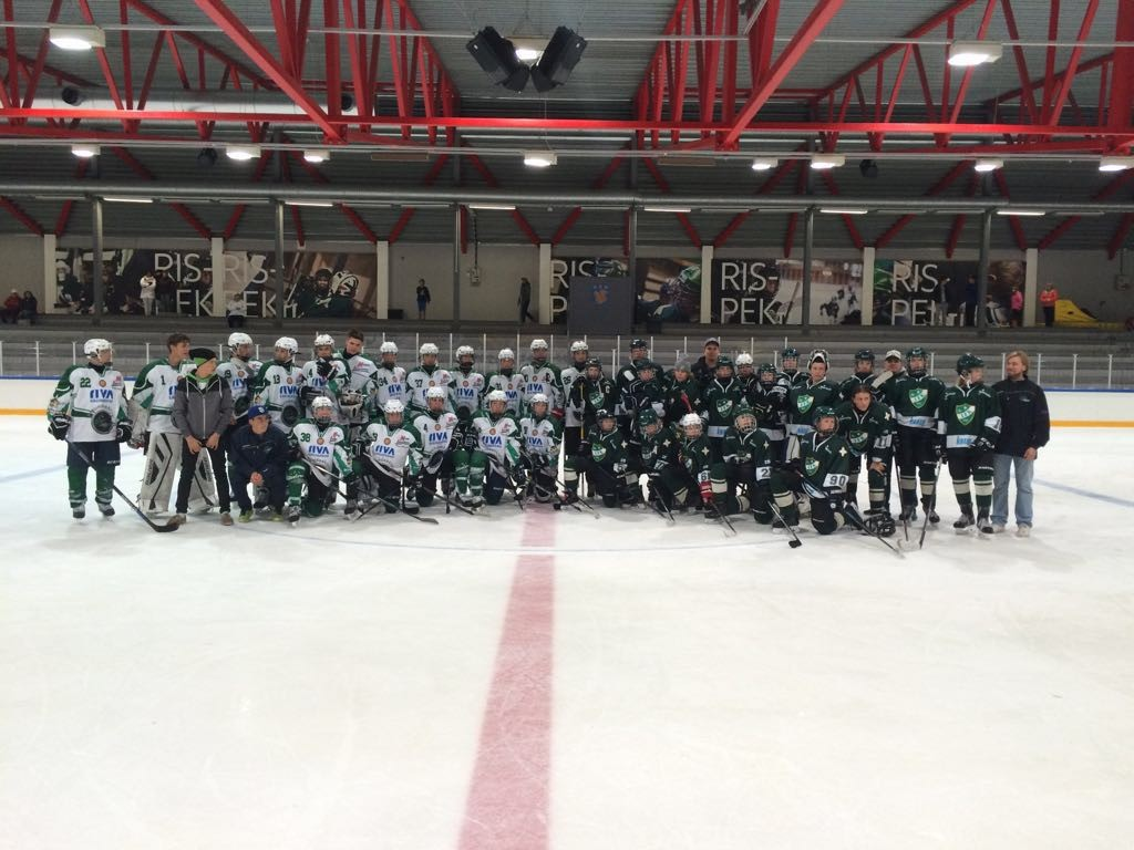 Trainingslager der U16 in Finnland Bild
