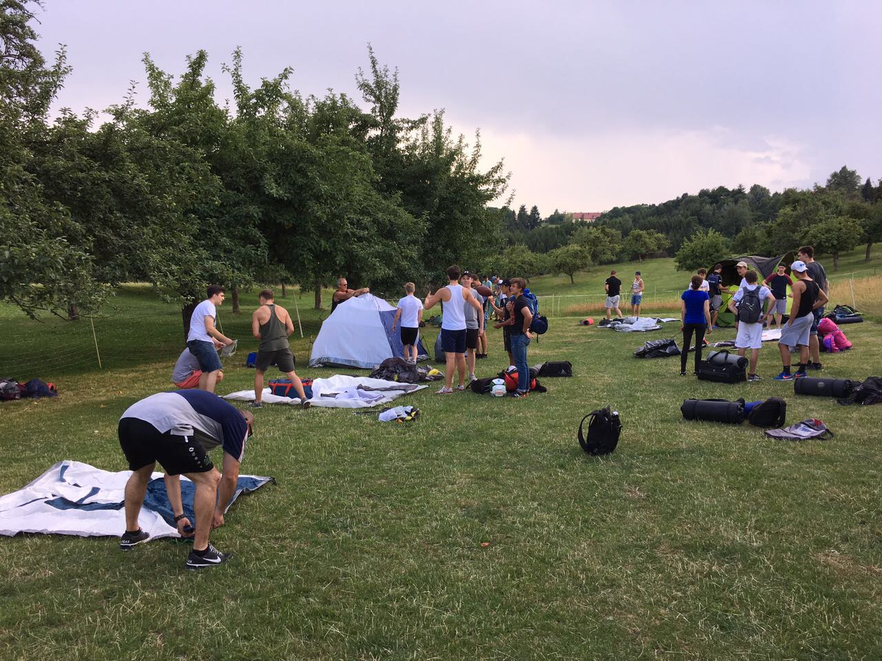 Steelers U19 im Teambuilding-Trainingslager Bild
