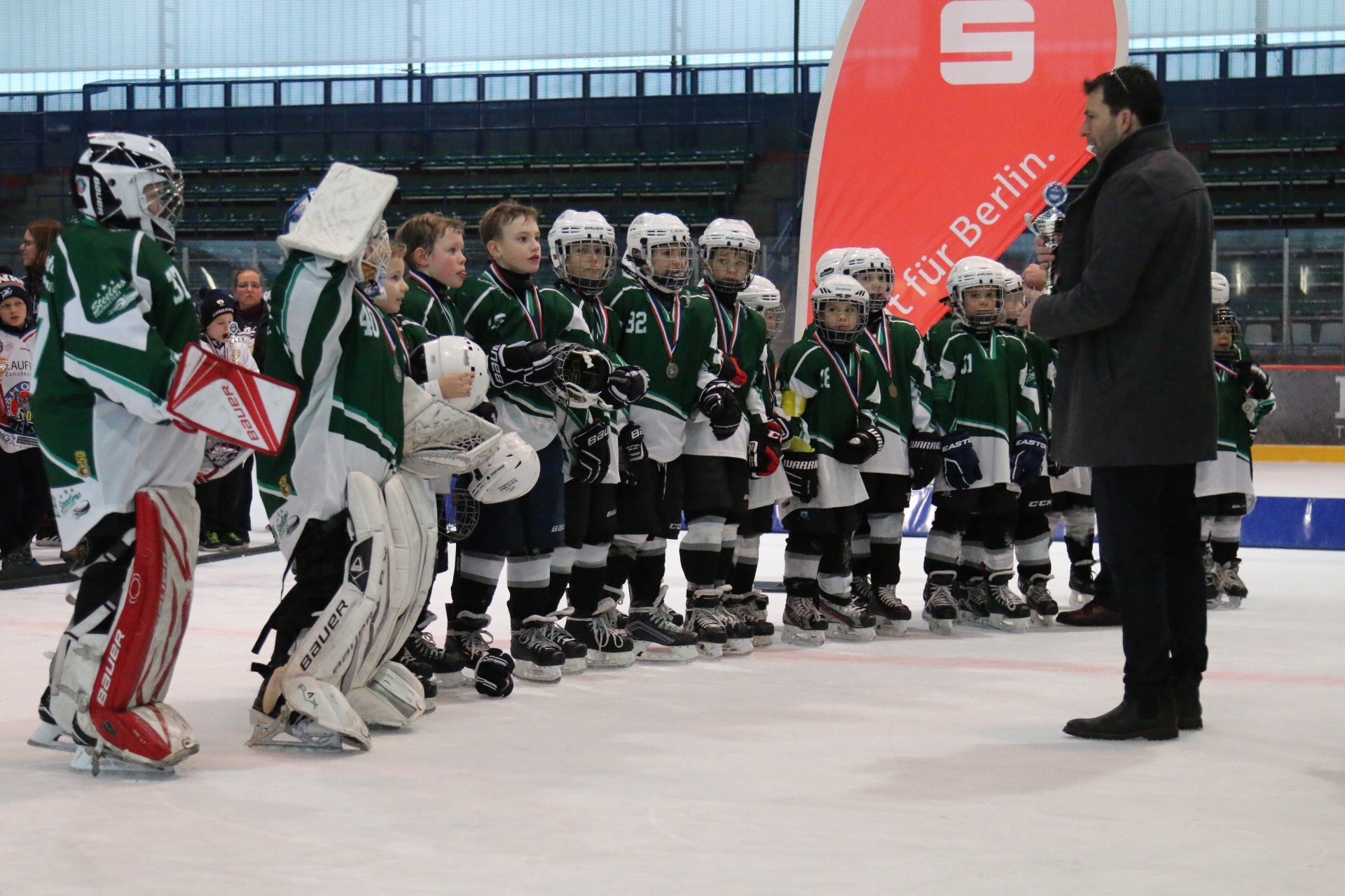 Steelers U10 in Berlin Bild