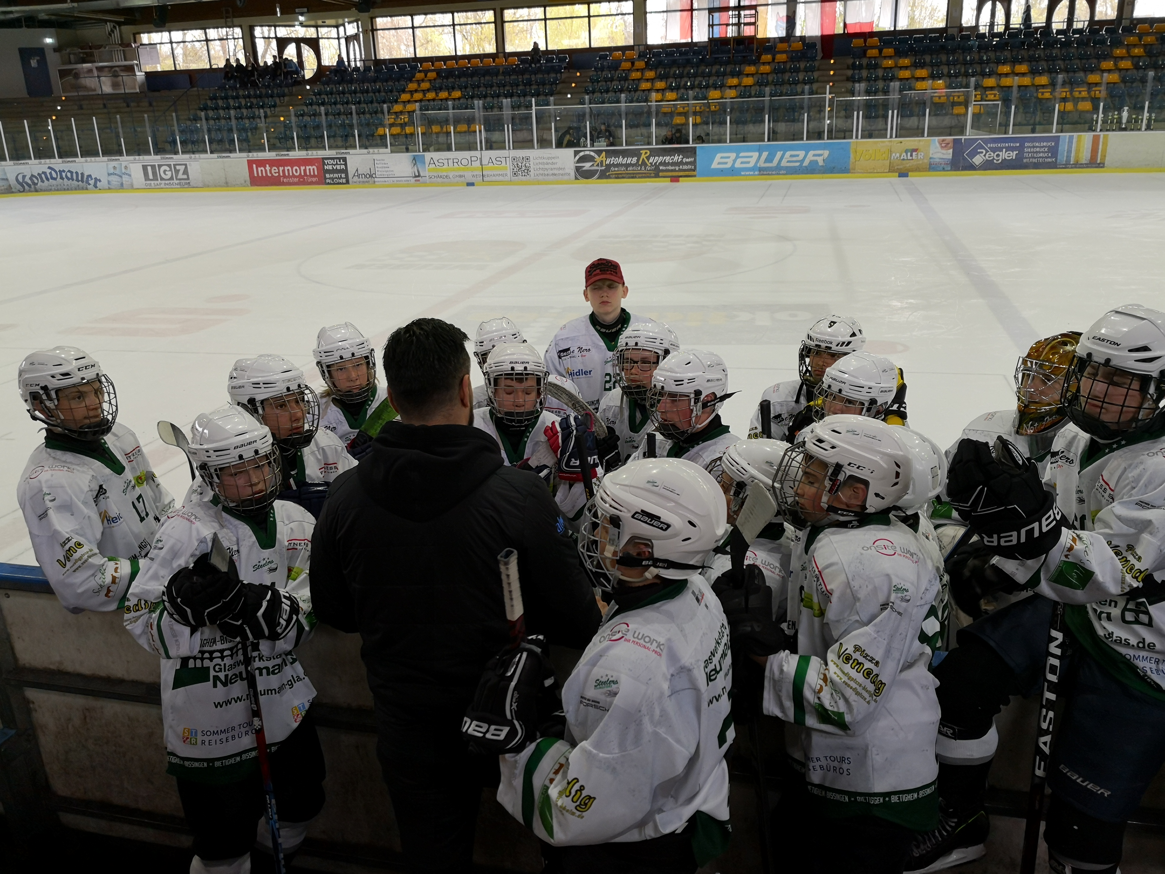 U15 beim Rumble on Ice in Weiden/Oberpfalz Bild